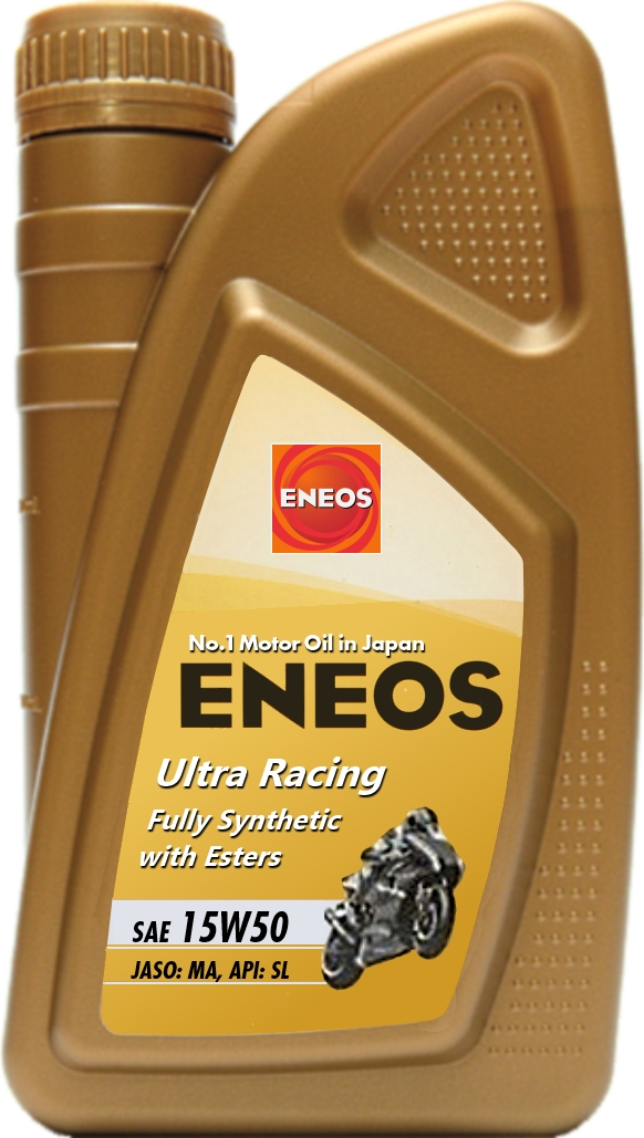 ENEOS Ultra Racing 15W50 motocycle oil